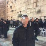 Пациент клиники на поездке в Иерусалим