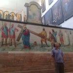 Пациент МРЦ Ника-Израиль в церкви святого благоверного князя Александра Невского