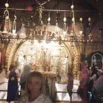 Пациентка МРЦ Ника-Израиль в Храме Гроба Господня в Иерусалиме