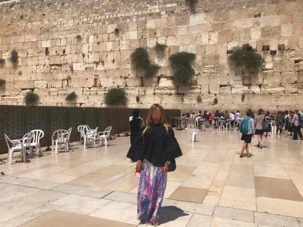 Пациент МРЦ Ника-Израиль на поездке в Иерусалим