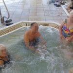 Пациент МРЦ Ника-Израиль на отдыхе на Мёртвом Море