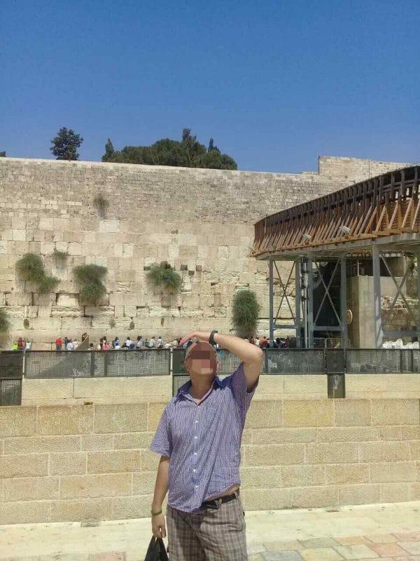 Пациент МРЦ Ника-Израиль в Иерусалиме