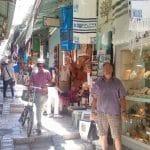 Пациент МРЦ Ника-Израиль в Иерусалиме в исторических местах