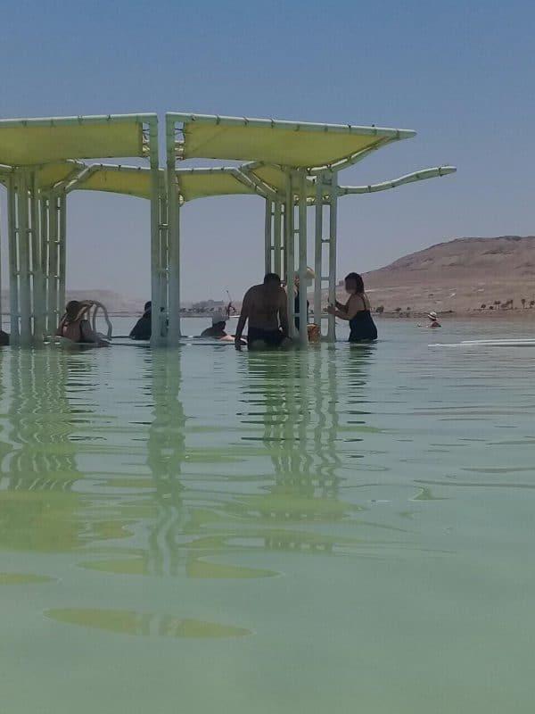 Лечебные процедуры на Мёрвом Море