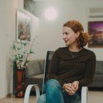 Психолог Инна Телепинская на группе